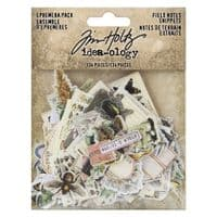Tim Holtz - Idea-ology - Ephemera Field Notes Snippets